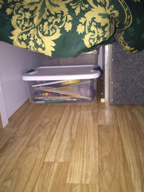 Under Bunk Storage